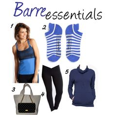"""Barre Essentials"" #barre #purebarre #workout #fitness #fitnessfashion @ActivewearOutlet.com"