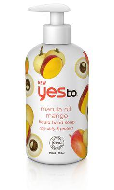 Yes to MARULA OIL & MANGO LIQUID HAND SOAP – AGE DEFY & PROTECT
