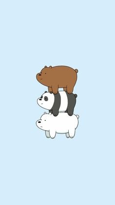 we bare bears wallpaper Cute Panda Wallpaper, Cartoon Wallpaper Iphone, Disney Phone Wallpaper, Bear Wallpaper, Kawaii Wallpaper, Pink Wallpaper, We Bare Bears Wallpapers, Panda Wallpapers, Cute Cartoon Wallpapers