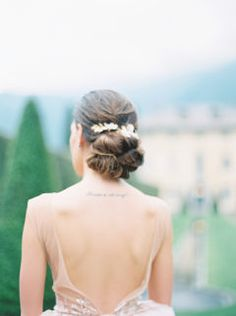 Soft and Romantic Lake Como Wedding Inspiration at Villa Balbiano Bridal Hair And Makeup, Bridal Beauty, Wedding Beauty, Classic Wedding Hair, Romantic Wedding Hair, Bridal Hair Inspiration, Makeup Inspiration, Lake Como Wedding, Trends