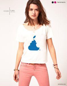 #fashion #neronera #tshirt #woman #apple http://www.neronera.com/info/graphic-design/store/bite-that-shit