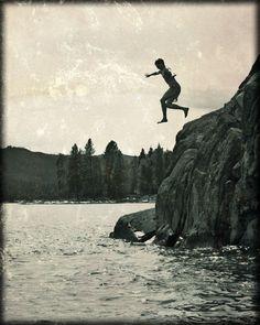 'You've got to Jump' via Annie Dillard and Ray Bradbury