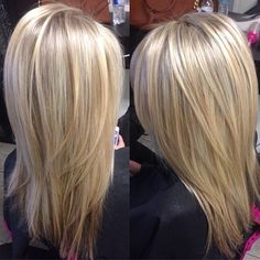 Natural blonde highlights!