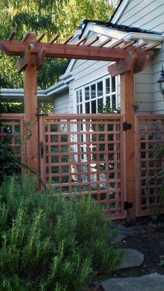 Garden Gate   C Fencing