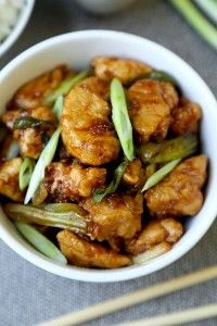 Mongolian chicken recipe