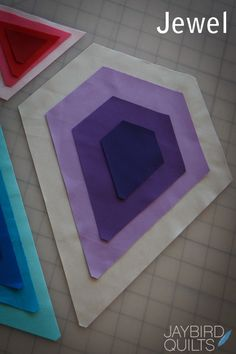 Tutorials   Jaybird Quilts tutorial to use Hex and More ruler- have not used it, will give it a try!!
