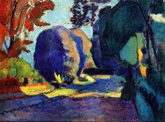 Henri Matisse - The Luxembourg Gardens, 1902