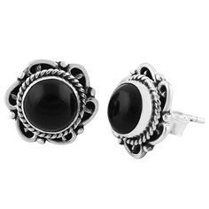 Just added to our shop - Alexis Black Onyx... http://www.bohomoon.com/products/alexis-black-onyx-earrings?utm_campaign=social_autopilot&utm_source=pin&utm_medium=pin