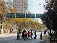 Manifestação estudantil Santiago Chile/LENALIMA,FOTOGRAFA EM BELO HORIZONTE.WWW/LENALIMA/FOT/BR