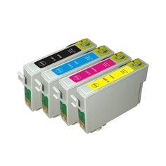 N 1Set T069120 T069220 T069320 T069420 Compatible Ink Cartridge for Epson Stylus CX5000 CX6000 CX7000 NX100 NX200