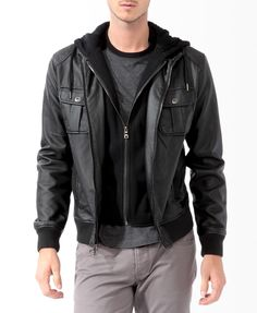 Bershka United Kingdom - Fleece-lined jacket with hood | Products