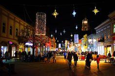 Discover the world through photos. Novi Sad, Times Square, Cities, Urban, World, Pictures, Photos, The World, City