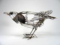Thomas Hall wire scuplture cribcandy.com