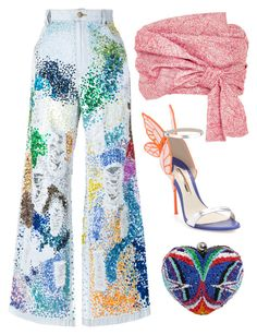 Paint by carolineas on Polyvore featuring polyvore, fashion, style, Adeam, Ashish, Sophia Webster, Manish Arora and clothing