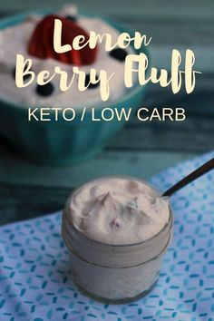 Lemon Berry Fluff -