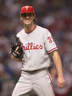 Cole Hamels... just love to watch him pitch