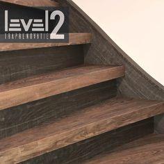 #level2traprenovatie #trap #renovatie #pvc #mixandmatch #houtlook #maatwerk