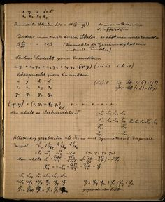 When Einstein died in 1955, a small, brown notebook containing his private calculations was found. Called the Zurich notebook, it gives a chance to look over Einstein's shoulder as he figures out his theory of general relativity.
