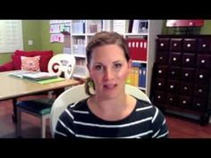 the second half is a great video for organizing child's project life after baby book
