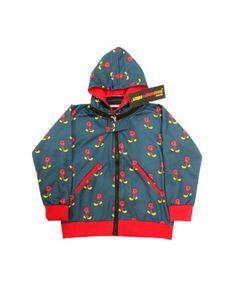 Printed Jacket With Detachable Hood   #ohnineone #kids