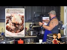 Crock Pot Cherry Cobbler - YouTube