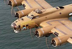 """B-17, Flying Fortress Bomber, """"Nine-O-Nine"""", Tail : A 231909 R"""