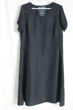 cocon.commerz PRIVATSACHEN BETRAPPE Kleid aus Wäscheseide in schwarz Gr. 2 #nachhaltig seit 1984 #seide #leinen #linen #silk #