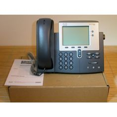 CP-7942G= Cisco IP Telephone Unified VoIP IP Phone 7942 w/ AC adapter 882658140389 Office Phone, Cheap Web Hosting, Ecommerce Hosting, Telephone, Landline Phone, Phone