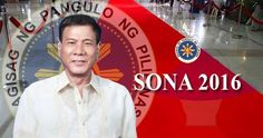 Everytime a new administration comes after every successful Presidential election, Filipino citizens all over the world then awaits the SONA (State of the Nation Addrress) of the new President on his first 100 days. President Rodrigo Roa Duterte will deliver his first SONA on July 25, 2016.