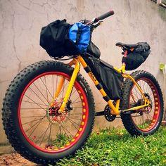 bikes-bridges-beer:  #welovefatbike #welovethailand #surly #surlybike #surlypugsley #pugsley #cycling #cyclists #cyclingtrip #bike #bikes #bicycle #bikelove #mtb #mybike #myride #mountain #fatbike #fattire #fatbikes #goodbike #outdoors http://ift.tt/1k3AN3N