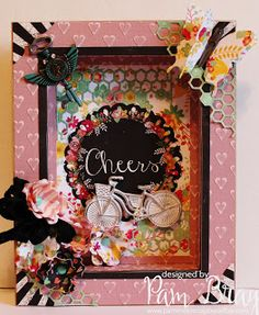 Scrapbook Flair: Cheers!!!! with Xyron and Craftwell