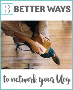 Networking the old way, commenting and commenting and commenting, just doesn't work anymore. Try these 3 strategies out and watch your community grow!