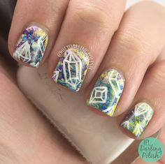 Hey, Darling Polish!: The Nail Challenge Collaborative - Geometric