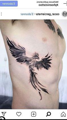 Japanese Phoenix Tattoo, Phoenix Back Tattoo, Small Phoenix Tattoos, Phoenix Tattoo Design, Colour Tattoo For Women, Cute Tattoos For Women, Tattoos For Guys, Wolf Tattoo Sleeve, Hp Tattoo