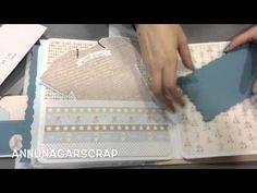 Álbum bebé scrapbook Diego - YouTube