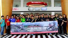 Anggota Komunitas Motor Sport Lintas Merek Sambut Honda CRF250RALLY