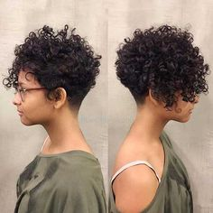 20 Latest Hairstyles for Short Curly Hair for Short Nape Curly Hair Short Curly Pixie, Curly Pixie Hairstyles, Curly Hair Styles, Short Curly Haircuts, Short Curls, Curly Hair Cuts, Short Hair Cuts, Natural Hair Styles, Latest Hairstyles
