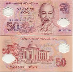 An image of the Đ50. #50 #Currency #VietNam