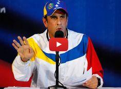 Capriles llama a la calle con o sin Chúo