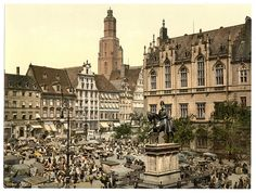 Germany at the end of the century / before WWII (historical photos) Thailand, Vacation Places, Places Around The World, Historical Photos, Old Photos, Romania, Wwii, Paris Skyline, 19th Century