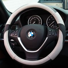 Gomass Leather Steering Wheel Cover