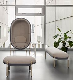 Capsule Bench | Soft seating programme from Casala's Palau collection Soft Seating, Extra Seating, White Washed Oak, Interior Design Awards, Lounge, Armchairs, Solid Oak, Accent Chairs, Upholstery