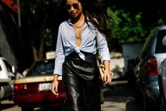 Street Style: Fashion Week Mexico MBFWMx