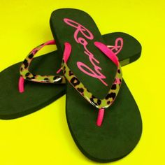 Roxy flip flops - best flip flops ever!