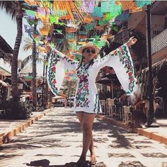 Nothing like a little splash of color in your life with our Pachamama tunic  @lacasaycosasdelau