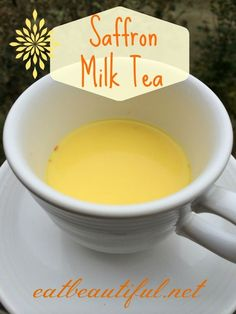 Saffron Milk Tea: A Recipe for Depression and General Wellness - Eat Beautiful