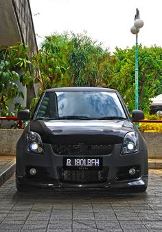 Suzuki Swift matte dark grey