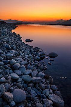 Swat River - Pakistan by Shahid A Khan, via Flickr