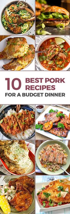 Collage 210 Best Pork Chop Recipes For A Budget Dinner