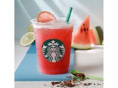 Wie lecker! Der Wassermelonen-Eistee von Starbucks